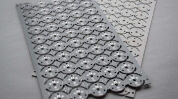 printed circuits aluminium
